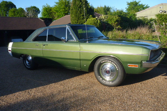1970 DODGE DART auto v8 For Sale (picture 1 of 6)