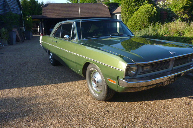 DODGE DART, 1970, V8, Automatic, P/St SOLD (picture 2 of 6)