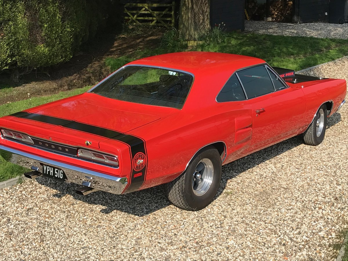 1969 Genuine Dodge Coronet A12 M Code Superbee 440 Six Pack  For Sale (picture 2 of 6)