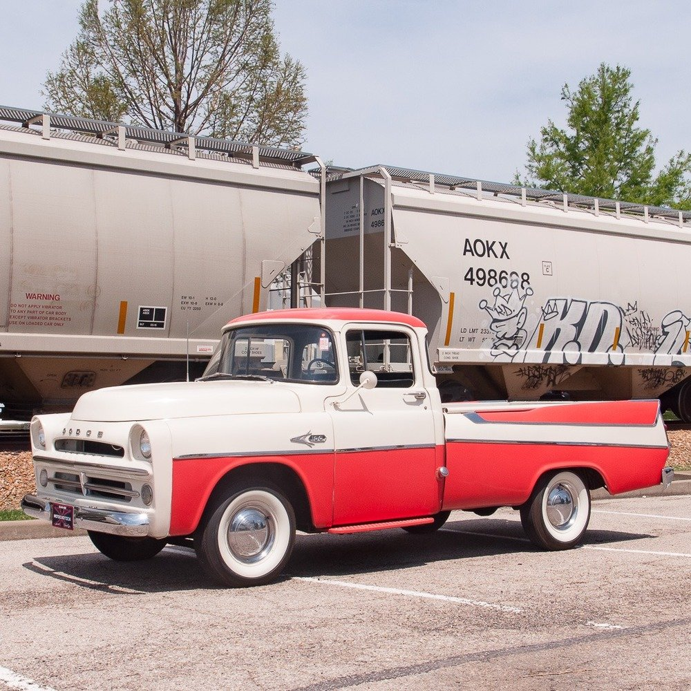 1957 Dodge D100 Sweptside ½-ton Pickup = Rare 1 of 180 For Sale (picture 1 of 6)