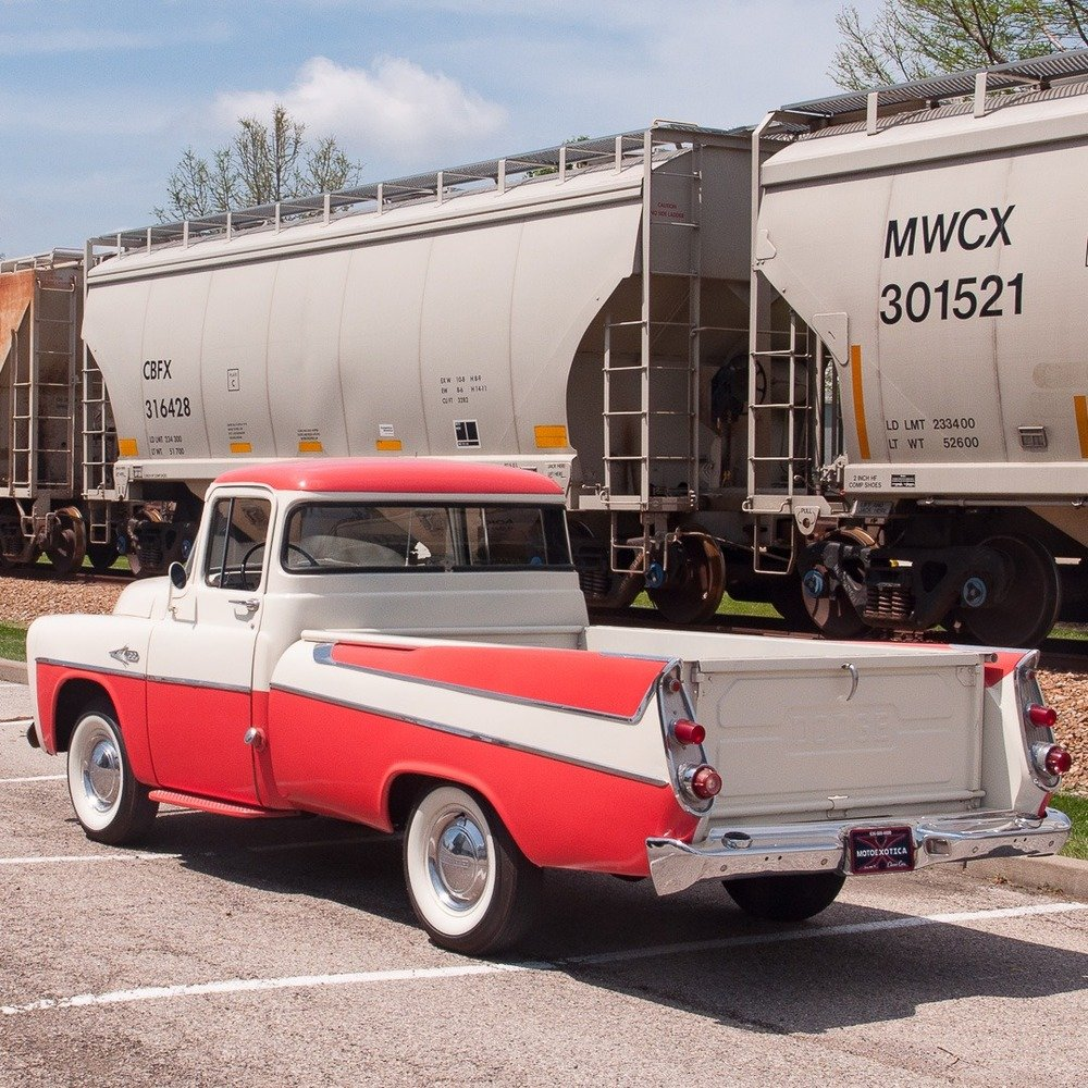 1957 Dodge D100 Sweptside ½-ton Pickup = Rare 1 of 180 For Sale (picture 2 of 6)