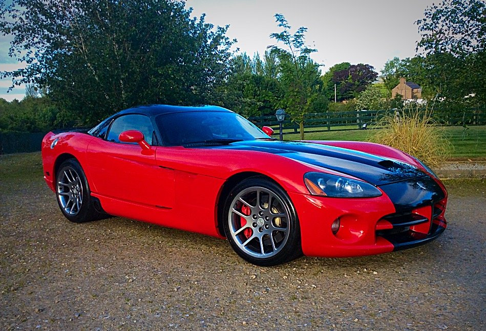 2005 DODGE VIPER SRT-10 COUPE - STUNNING PERFORMANCE POSS PX For Sale (picture 1 of 6)