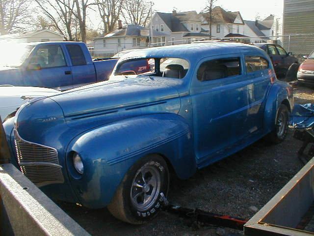 1940 Dodge 2dr Sedan Street Rod $9500 USD For Sale (picture 1 of 6)