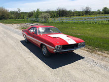 1970 Dodge Challenger RT = Fast 440 auto Red driver $29.9k For Sale (picture 5 of 6)