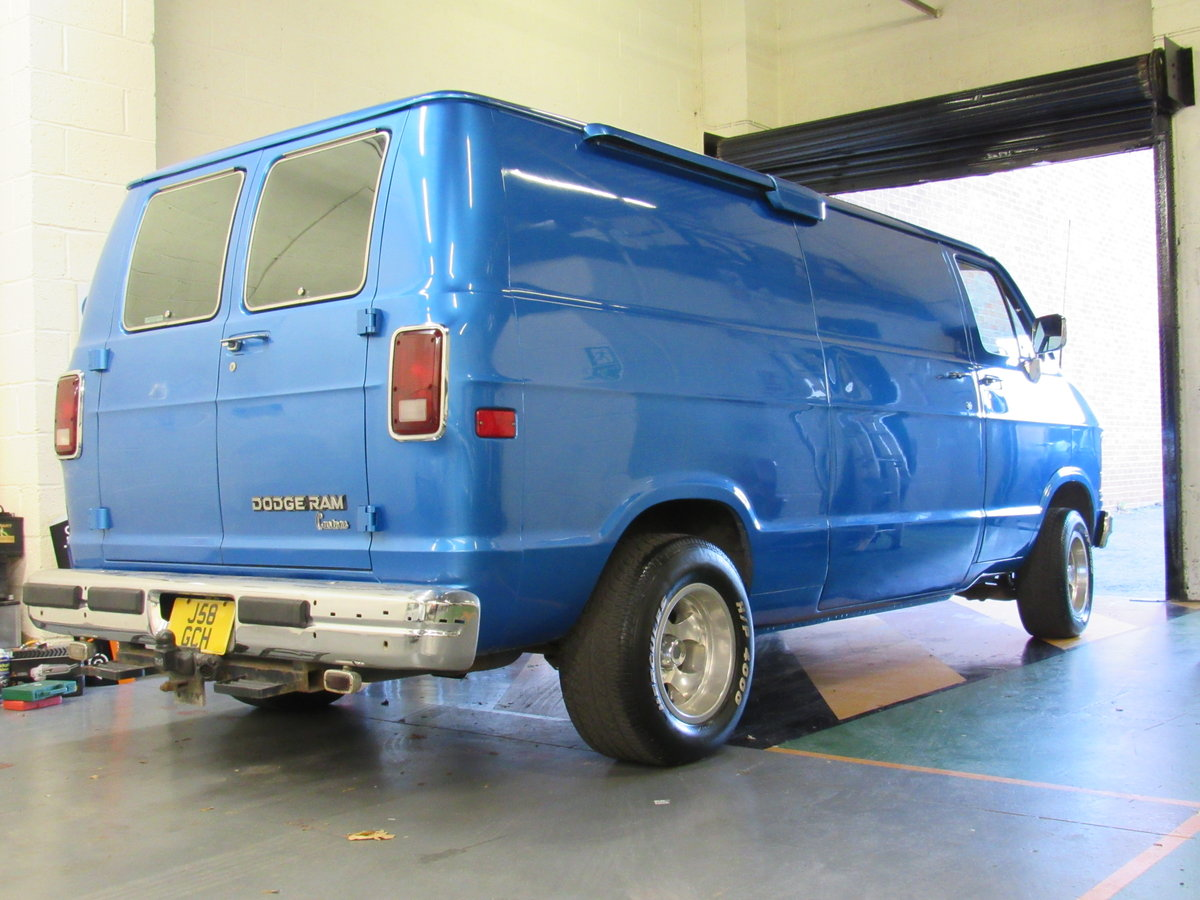 1991 Dodge Ram b2500 custom pannel van For Sale (picture 3 of 6)