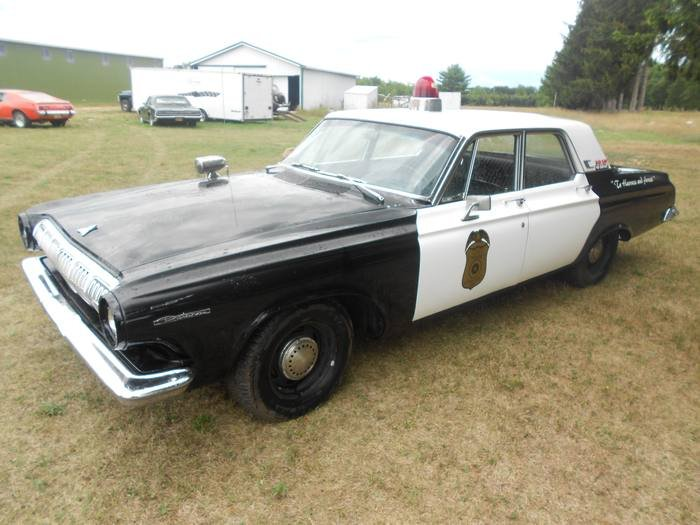 Dodge 1963 American Texas police car For Sale (picture 6 of 6)