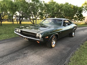1970 DODGE CHALLENGER RT 440 6-PACK 4 SPEED DANA 1 OF 1 For Sale