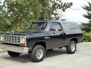 1985 Dodge Ram Charger Royal SE = 360 auto trans $13.5k  For Sale