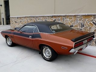 1970 Dodge Challenger T/A = 340 V8-6 Pack 4 speed $84.9k For Sale (picture 2 of 6)