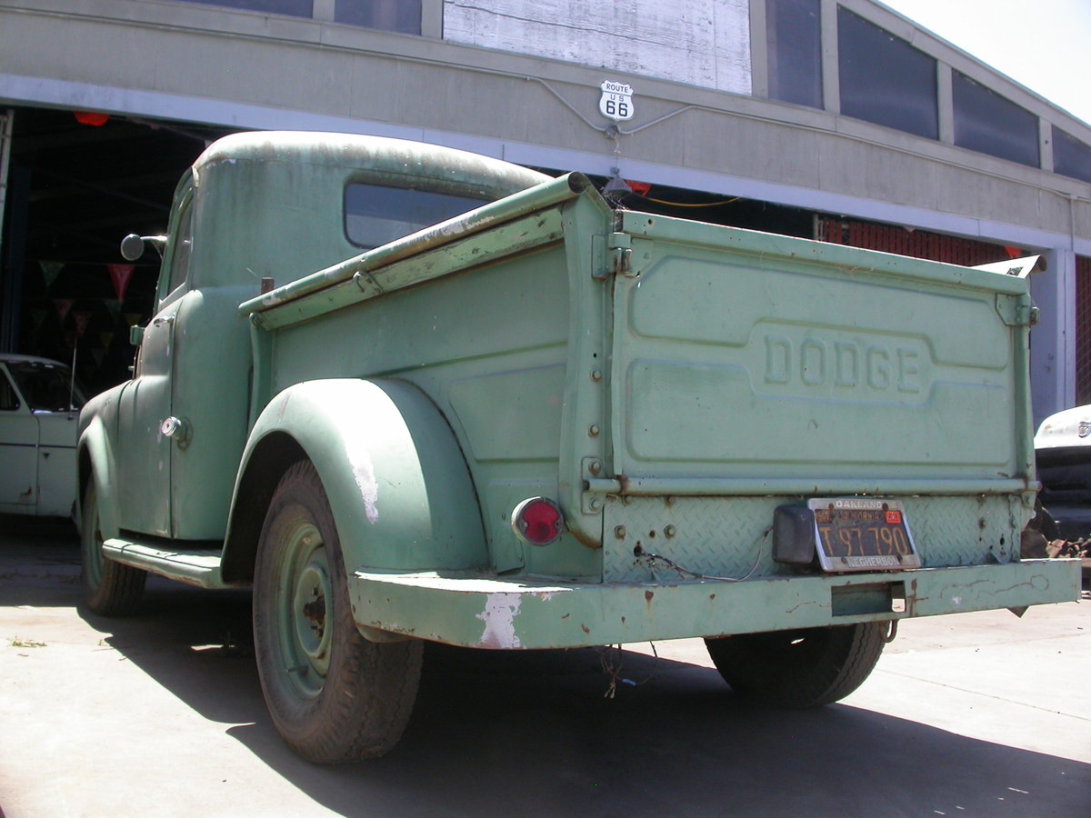 1949 lifelong california truck on the button $9200 shipping incl For Sale (picture 2 of 6)