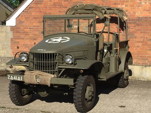 1941 Dodge WC13 Truck for sale - Rare model. SOLD