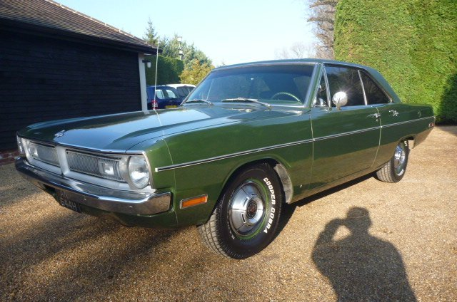 DODGE DART, 1970, V8, Automatic, P/St SOLD (picture 6 of 6)