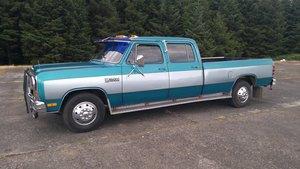 Dodge Ram D350 Royal 1985 LPG 360 Crew Cab Long Bed  SOLD