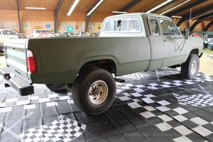 1976 DODGE Pick up 4x4 For Sale by Auction