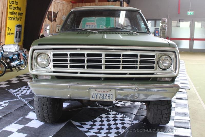 1976 DODGE Pick up 4x4 For Sale by Auction (picture 3 of 6)