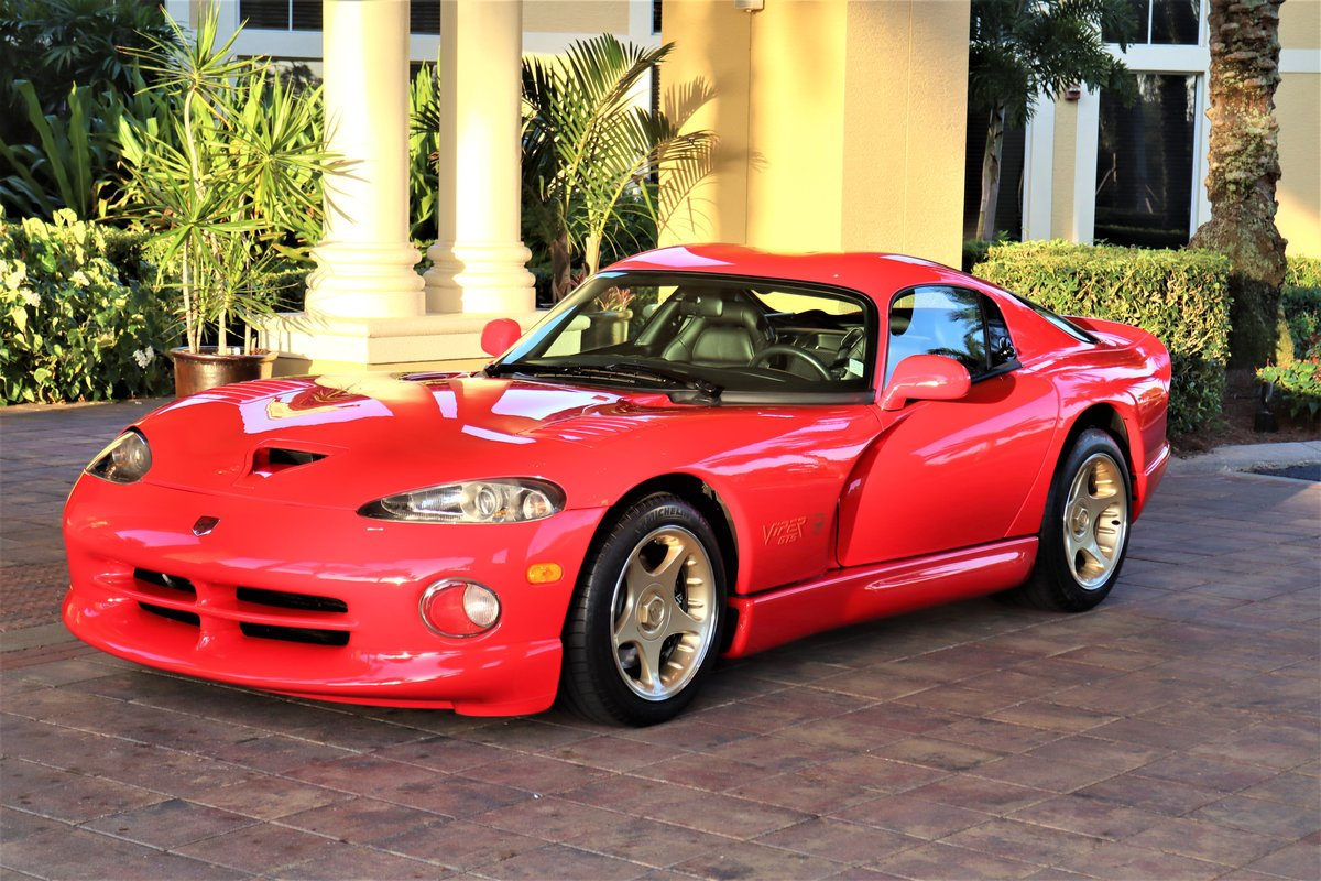 1997 Viper GTS - Sparkle Gold (1 of 7 ever made) For Sale (picture 2 of 6)