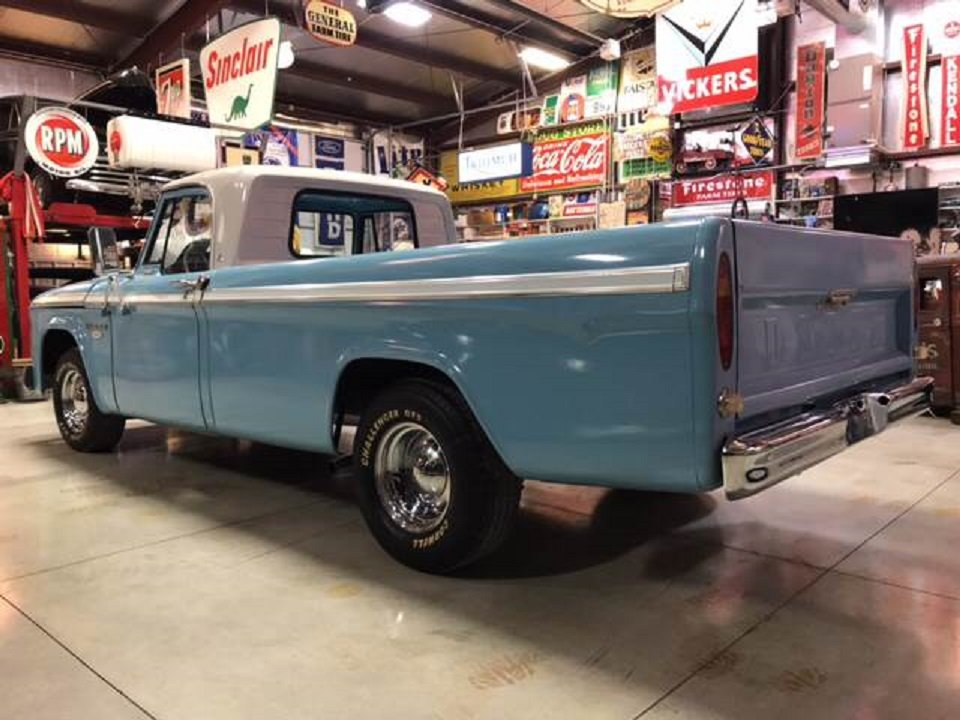 1966 Dodge D100 Pickup For Sale (picture 3 of 6)