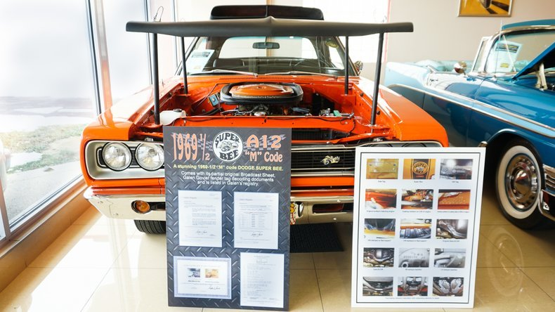 1969 1/2 Dodge Super Bee Rare 1 of 340 Made +4406Pack $79.9k For Sale (picture 3 of 6)