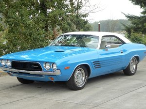 1973 Dodge Challenger fast strong 440 V-8 + Manual $34.5k For Sale