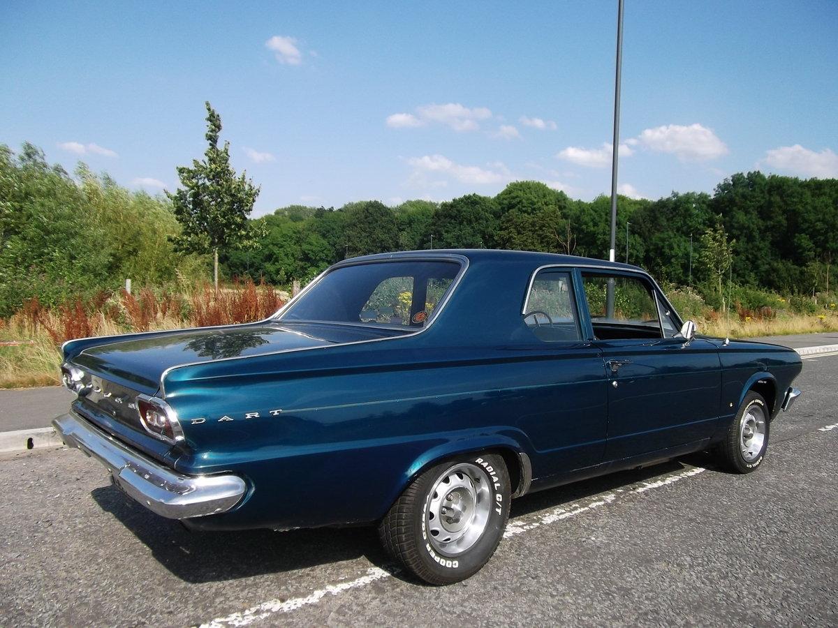 1965 Dodge Dart 360 V8,Real Sleeper Muscle Mopar,Ex Drag Car For Sale (picture 2 of 6)