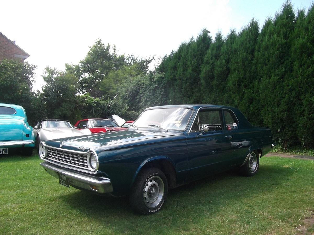 1965 Dodge Dart 360 V8,Real Sleeper Muscle Mopar,Ex Drag Car For Sale (picture 6 of 6)