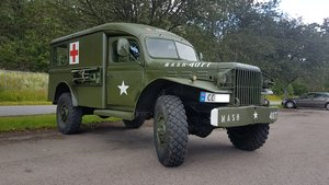 1945 Dodge WC54 Ambulance, military car For Sale