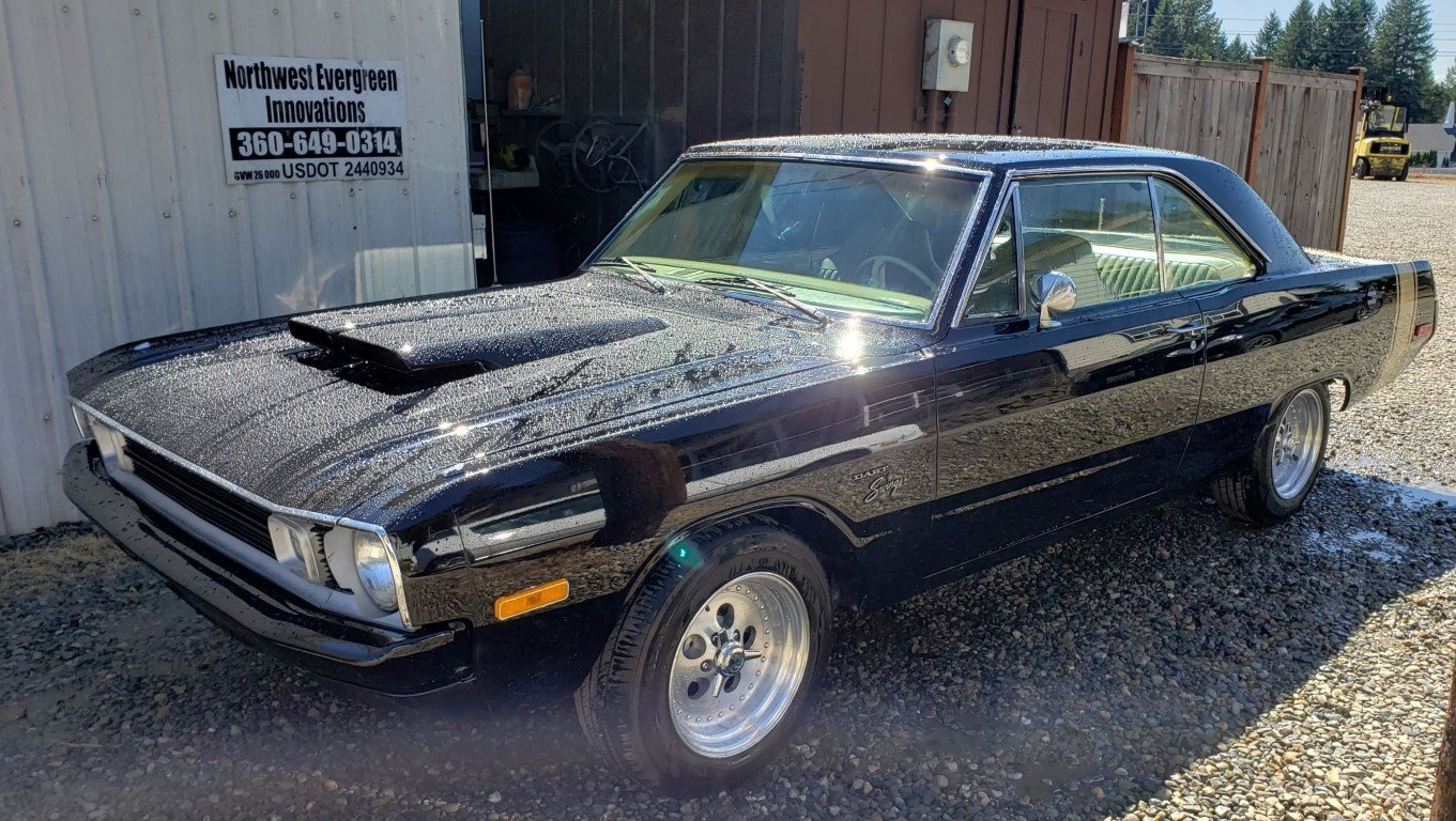 1972 Dodge Dart Swinger - Lot 672 For Sale by Auction (picture 1 of 5)