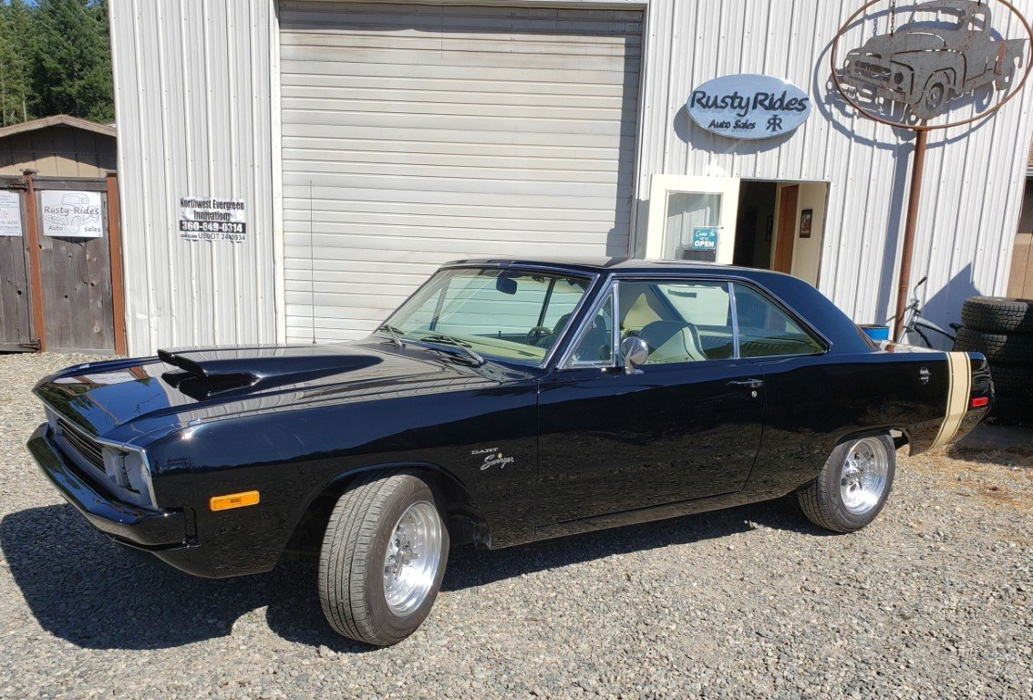 1972 Dodge Dart Swinger - Lot 672 For Sale by Auction (picture 3 of 5)