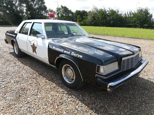 1981 Dodge st regis police car new florida import