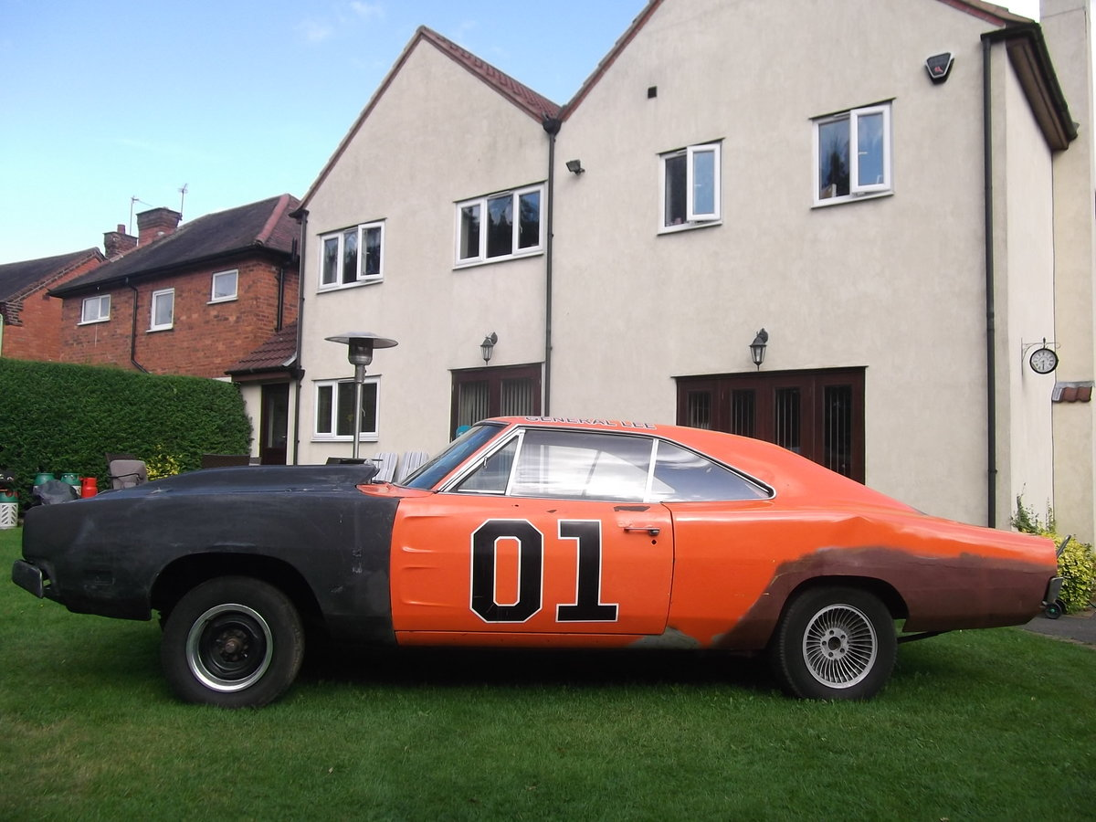1969-Dodge-Charger-Rolling-Shell-Restoration project SOLD (picture 1 of 6)