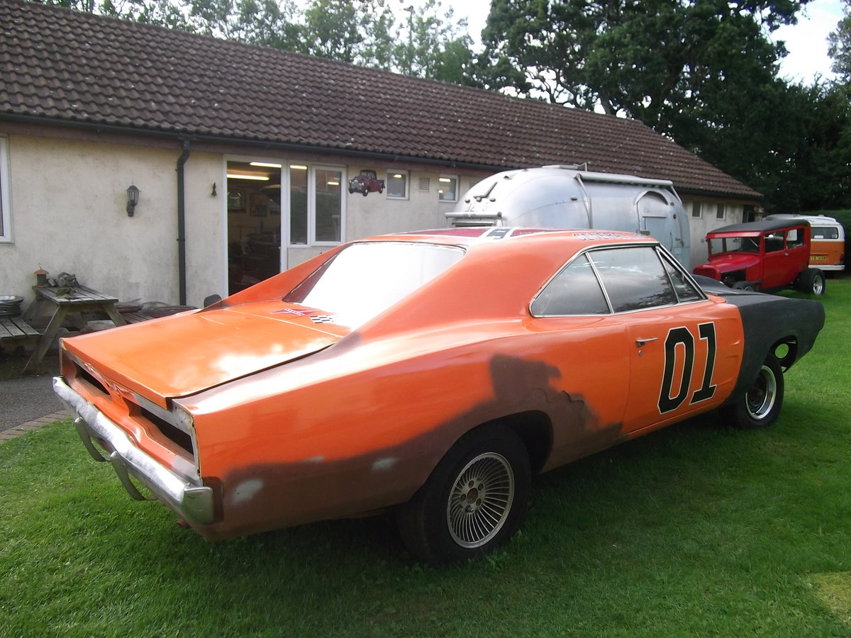 1969-Dodge-Charger-Rolling-Shell-Restoration project SOLD (picture 2 of 6)