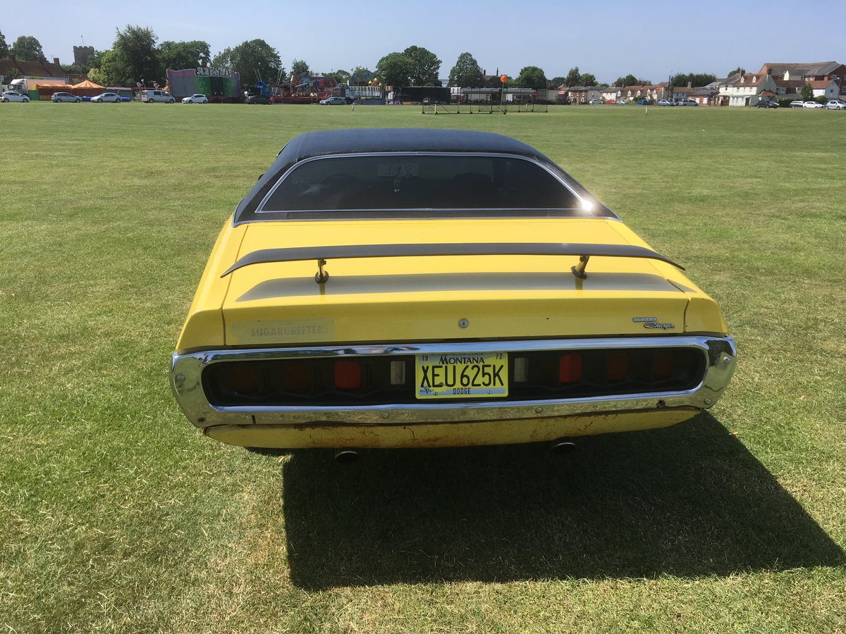 1972 DODGE CHARGER For Sale (picture 3 of 6)