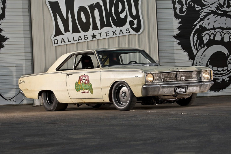 1967 67 Dodge HellCat Dart Coupe Gas Monkey 2015 HellCat $82.9k For Sale (picture 6 of 6)