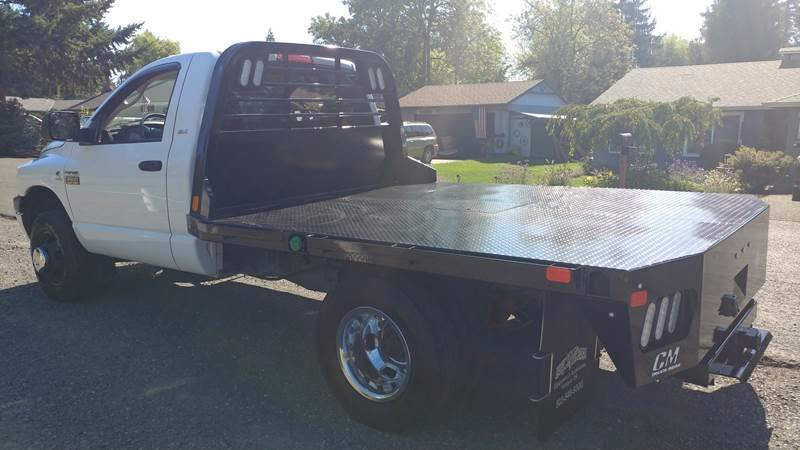 2008 Dodge Ram Chassis 3500 SLT Diesel FlatBed 9 Foot $17.9k For Sale (picture 4 of 6)
