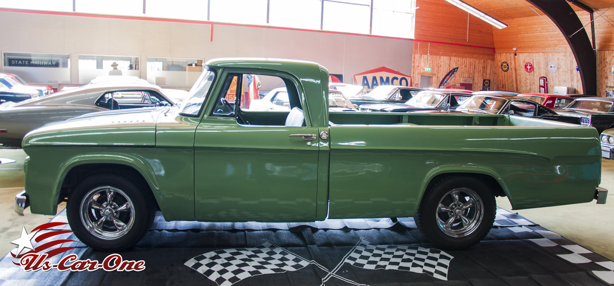 1964 Dodge 64 Pick up V8 Rare *CA-Import*  For Sale (picture 5 of 6)