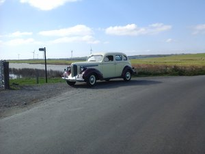 1938 dodge d8 sedan uk registered .ready to drive For Sale