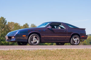 1987 Dodge Daytona Shelby Turbo Z HatchBack Manual Purple