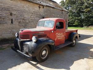 1946 Dodge WC Half ton short bed Pickup truck