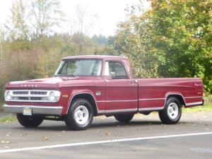 1971 Dodge D100 Pick-up Truck = 345 HEMI Auto Red $8.9k For Sale