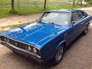 1967 Dodge Charger american muscle car for sale