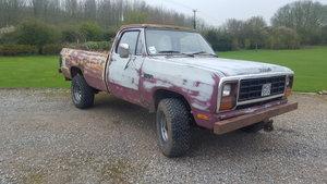 1985 Dodge ram, rat look pickup