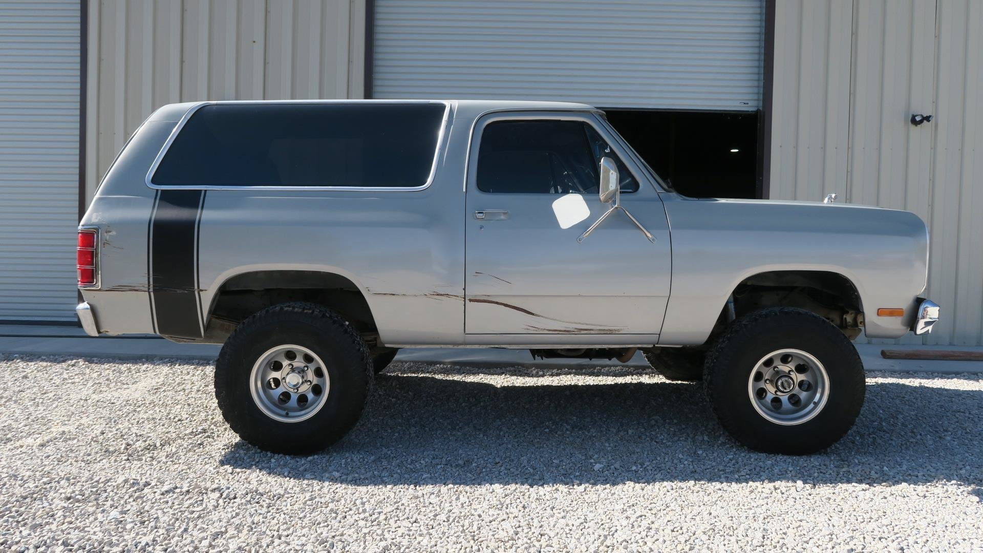 1984 Dodge Ram Charger 360 V8 4X4 Silver 50k miles AT $7.9k For Sale (picture 1 of 6)