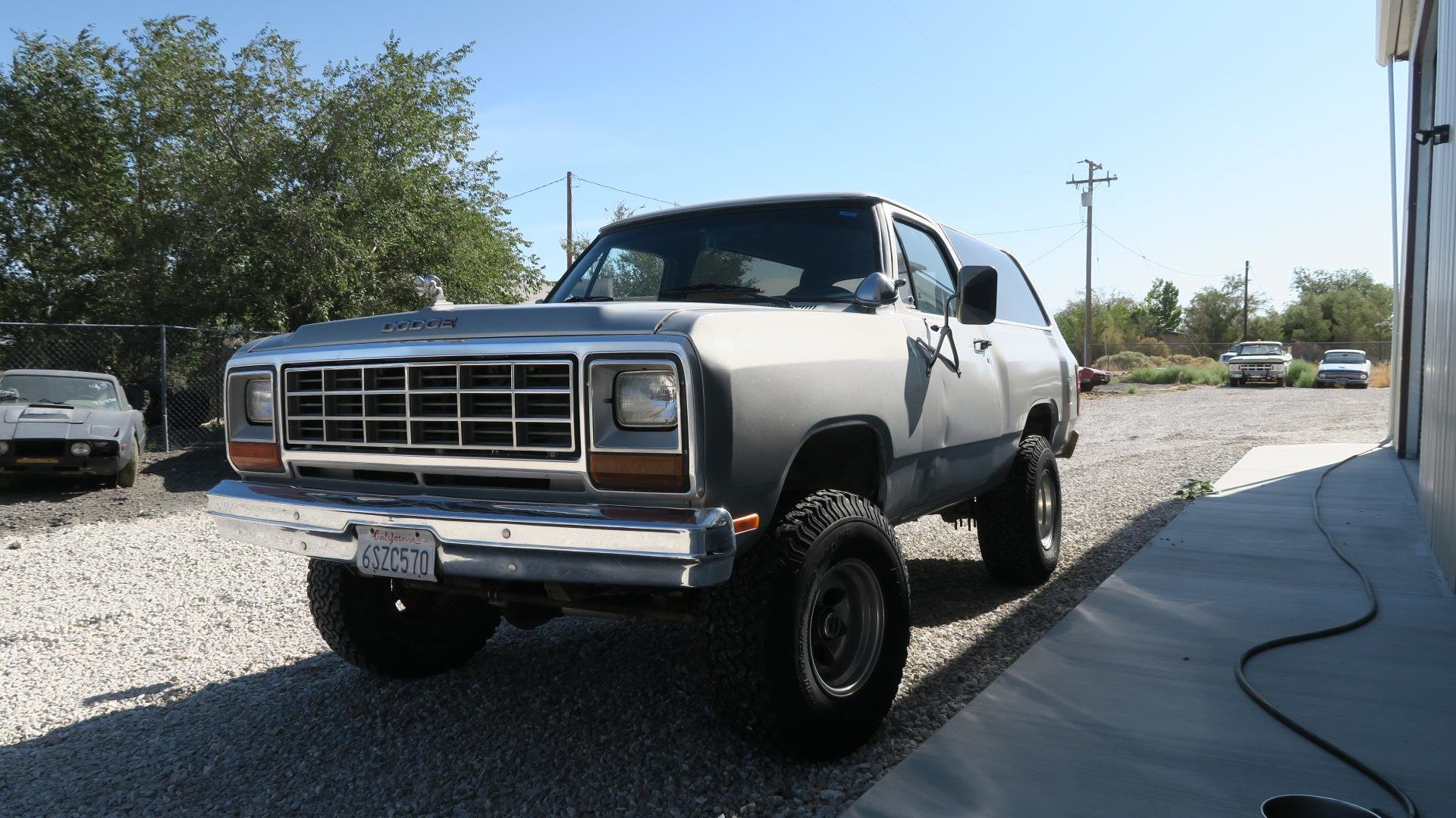 1984 Dodge Ram Charger 360 V8 4X4 Silver 50k miles AT $7.9k For Sale (picture 2 of 6)