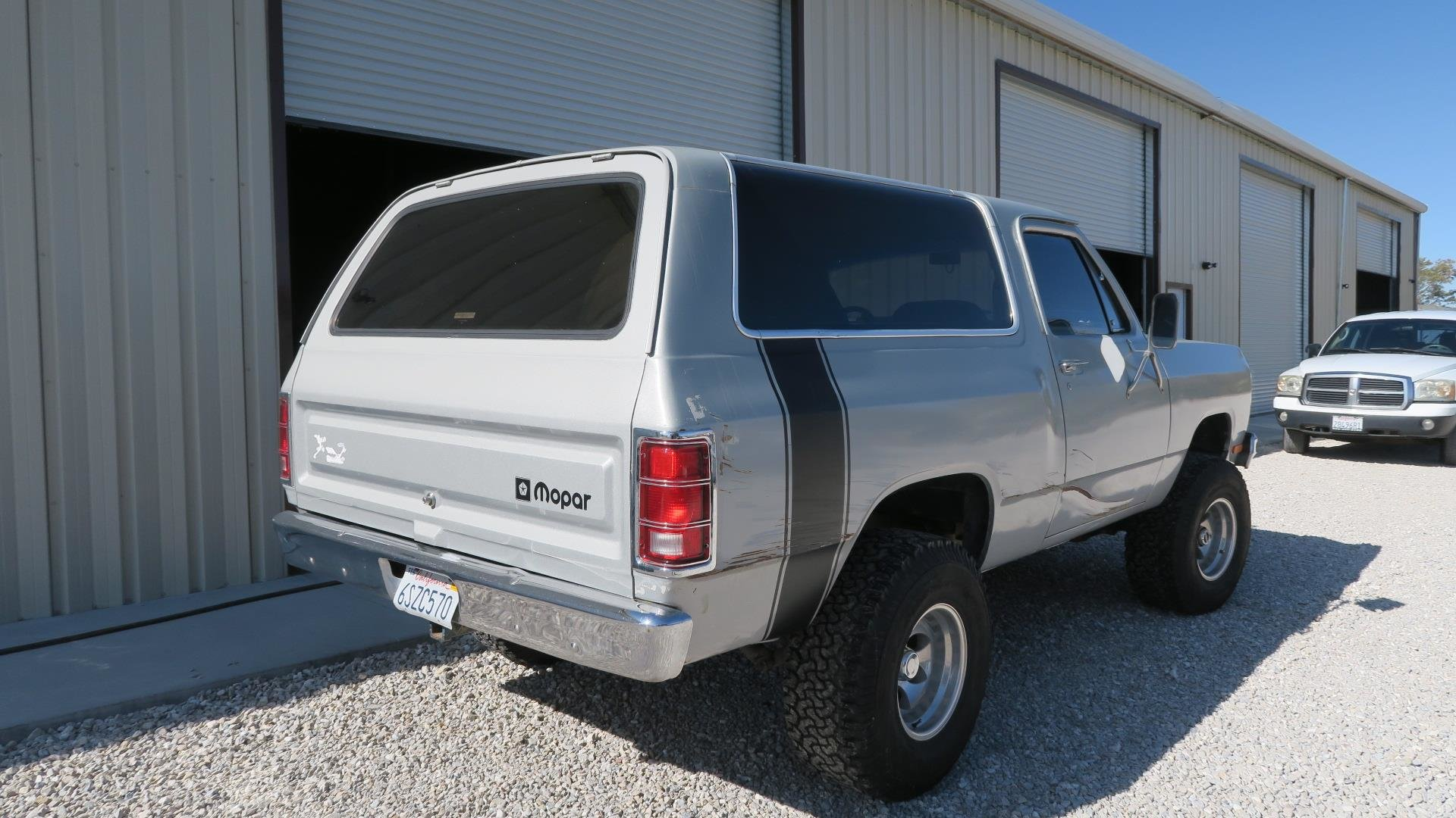 1984 Dodge Ram Charger 360 V8 4X4 Silver 50k miles AT $7.9k For Sale (picture 3 of 6)