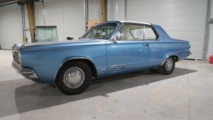 1965 Dodge Dart GT 318 V8 Auto Clean Blue(~)Ivory $11.5k For Sale