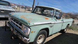 1968 Dodge D200 Pick Up Truck Camper Special v8 318 $2.9k For Sale