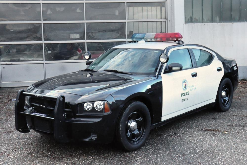 2007 Dodge Charger LAPD Police Pursuit Vehicle For Sale (picture 1 of 6)