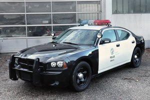 2007 Dodge Charger LAPD Police Pursuit Vehicle For Sale