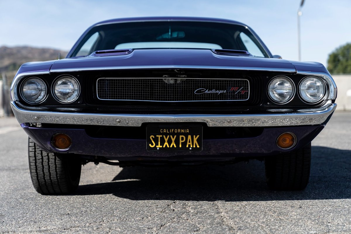 1970 Dodge Challenger R/T Numbers matching 440 Sixpack Plum  For Sale (picture 1 of 6)