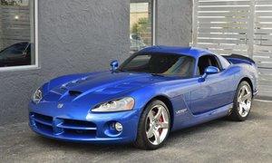 2010 Dodge Viper SRT-10 Rare 1 of 50 made Mint Blue $74.9k
